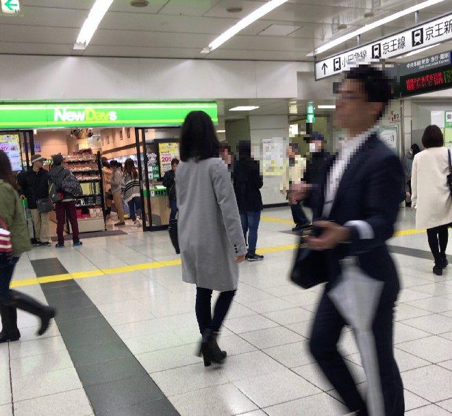 新宿東口ルミネエストのスタバ1